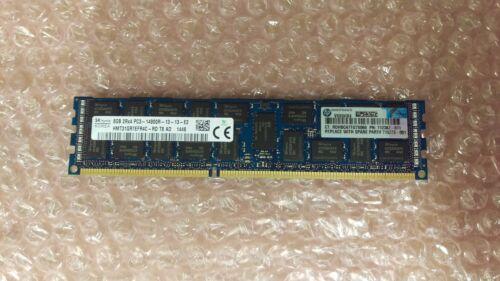 HP 8GB 2Rx4 PC3-14900R DDR3 ECC Server Memory 712382-071 708639-B21 715273-001