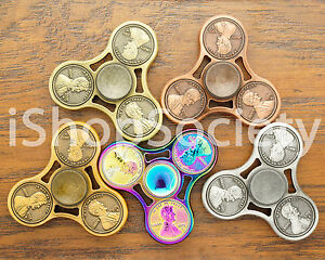 Penny Fidget Tri Spinner Figet Spinners EDC Gyro Anxiety Desk Toy ADHD -USA-