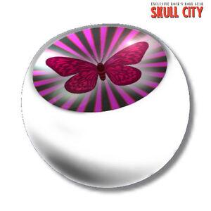 Butterfly White Piercing Ball - Schraubkugel - Kugel Schmuck Schmetterling Cute