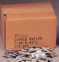 500 Pack Of G.i. P-38 Can Openers