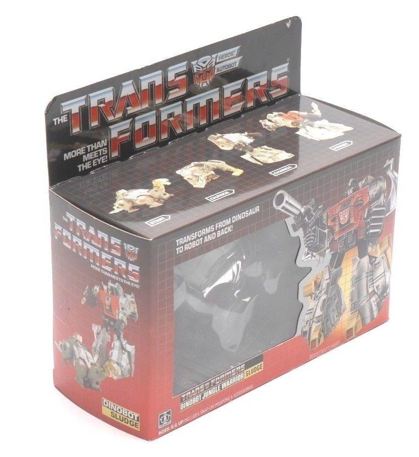 Top REISSUE g1 sludge sludge sludge TRANSFORMERS 100% completare nuovo Dinobot giocattoli bambini 66e3cc