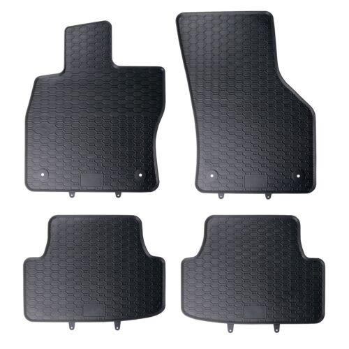 Gummimatten Seat Leon 5F 4 tlg Fussmatten Allwetter Matten Original Qualität