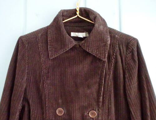 0 di rimovibile 2 Womens Crew Xs in lana coste foderata J marrone Giacca di flanella a velluto 1wqtYaa