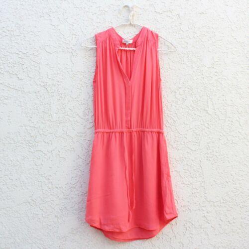 Aritzia Babaton Benedict Silk Shirt Dress Pockets