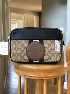 NWT-COACH-4118-Graham-Crossbody-In-Signature-Jacquard-With-Stripe-Coach-Patch