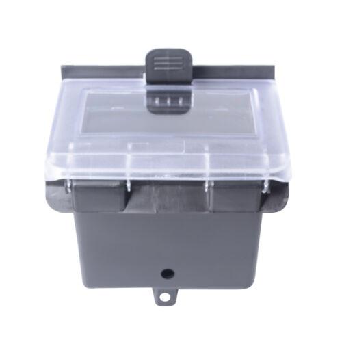 Black Dash Box for Polaris RZR 900/&S 2015 RZR XP 1000 2014 RZR XP 4 1000//PS