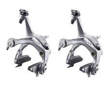 Shimano Ultegra 6700 Rear / Front - Pair of Brake Calipers, 49 mm Drop - Silver