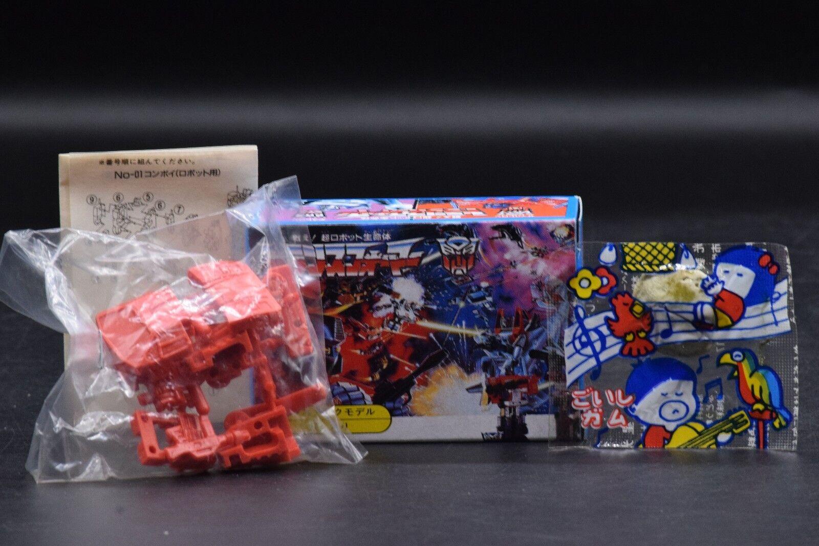 Japanese vintage Transformers SIDESWIPE figure +BOX Takara Japan Autobot toy