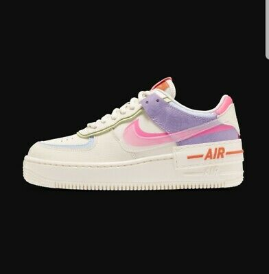 Nike Air Force 1 Shadow Pale Ivory Womens Shoes Low SNEAKERS