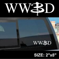 WWBD - What Would Buffy Do - sticker decal Buffy the Vampire Slayer