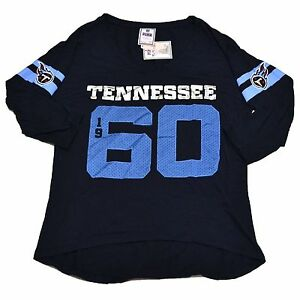 515e162a Victoria's Secret Pink Tennessee Titans T Shirt Jersey Bling Graphic ...