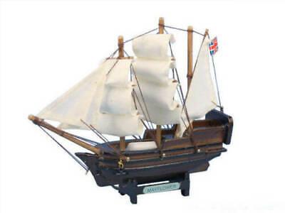 4 Hampton Nautical Mayflower Model Ship Magnet Wooden 4 Handcrafted Nautical Décor MAYFLOWER 4-MAGNET