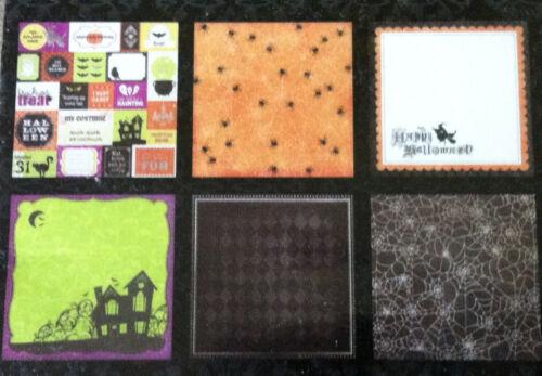 DCWV HALLOWEEN 12 x 12 Scrapbook Paper~BNIP~Really Cute!