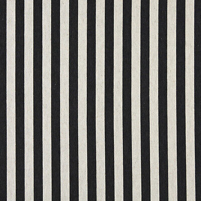 Off White Striped Upholstery Fabric