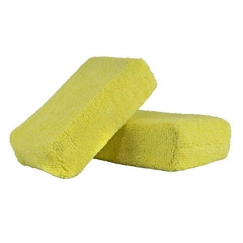 Chemical Guys MIC29902,Yellow Microfiber Applicator Premium Grade 2 Pack