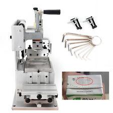 Pad Printing Machine Manual Pad Printer Pen Label Ink Dish System Plate Pad Diy