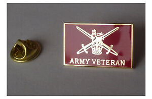 H M Armed Forces Malaya Veteran Lapel pin badge