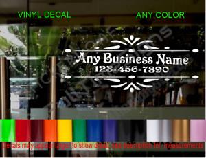 CUSTOM OFFICE DECAL BUSINESS Store Sign DOOR Window sticker Law Medical Doctors