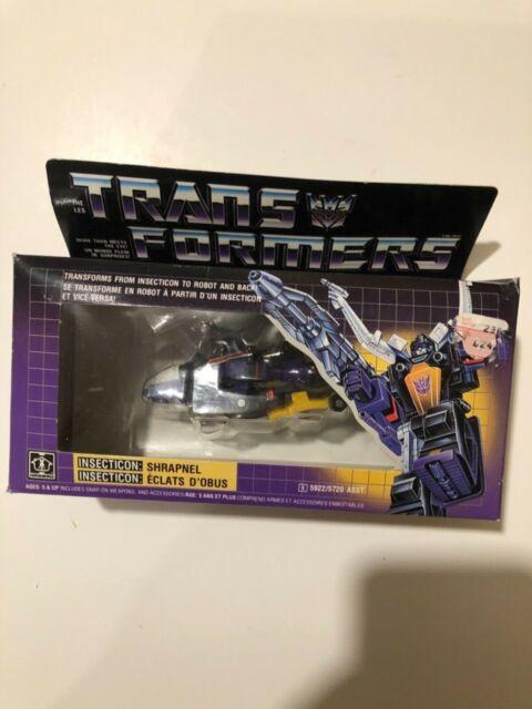 G1 Transformers Shrapnell MIB