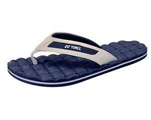 Image is loading Yonex-Slippers-WAVE-Navy-Slide-Slides-Sport-Sandals- 84751ba4a