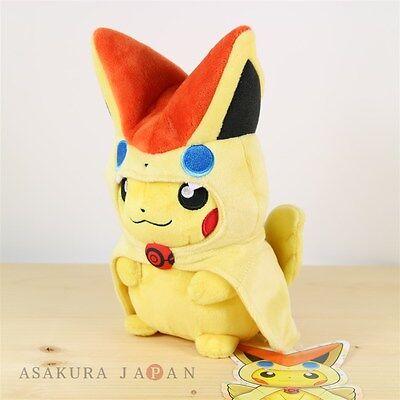 "5/"" Victini Authentic Import Pokemon Center Japan Plush Stuffed Toy"