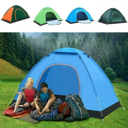High-end Automatic Durable Camping Tent Waterproof Shelter Backpacking Sun X2F5