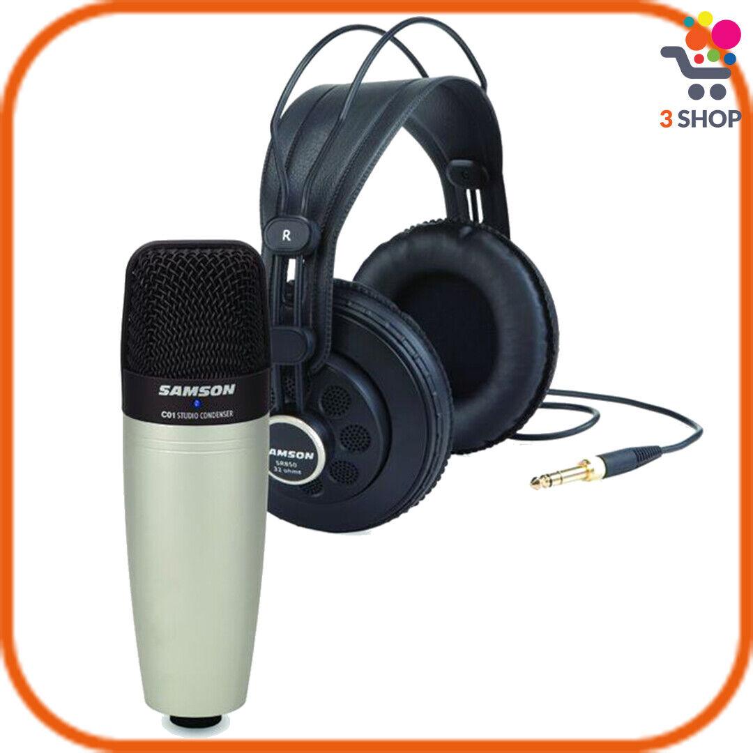 Microfono a condensatore per registrazione cardioide da studio cuffie filo cavo