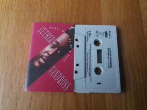 LUTHER-VANDROSS-DON-039-T-WANT-TO-BE-A-FOOL-2-TRACKS-1991-EPIC-EXCELLENT