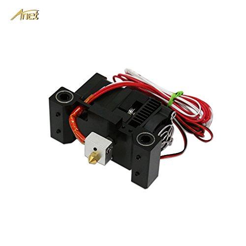 Steel Heater Block Assembly Set Extruder Hot End for i3  3D Printer MK8