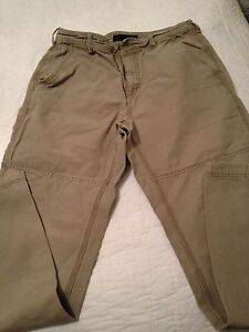EMS khaki pants heavy cotton nice size 32 | eBay