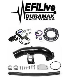 Efi Live Duramax Tunes >> Details About Chevy Gmc Duramax Lly 6 6l 2004 5 2005 Egr Delete Kit Efi Live Tuner Dsp5 Chip