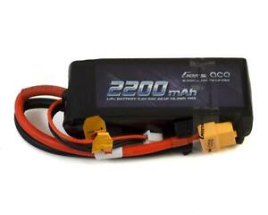 Gens ace 2200mAh 7.4V 2S 50C LiPo Battery Pack with Deans and XT60 Plug for ompatible with Rc Traxxas 1//16 E-Revo VXL Summit Slash Losi 1//14 Mini 8ight and Rc Cars