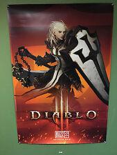 Blizzcon 2015 Diablo 3 Crusader Poster