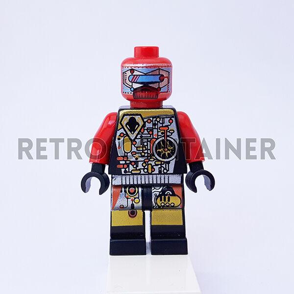LEGO ® Space Mini Personaggio Accessori Casco 1x Nero per UFO ALIENO da Set 6915