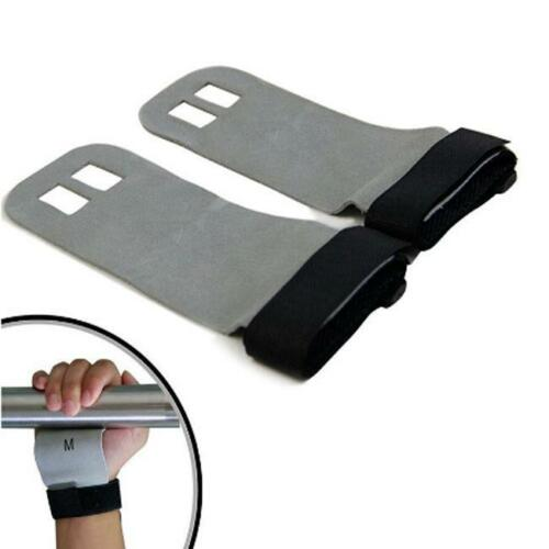 Crossfit Grips Leather Palm Protector Gymnastic Handguard Gym Gloves Pull Ups MP