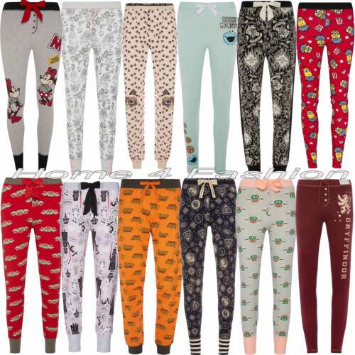 Ladies Disney Leggings Pyjama Harry Potter Women/'s Pajama Bottoms Primark