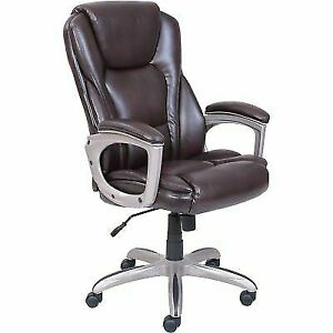 Marvelous Serta Commercial Office Chair 350Lbs Capacity 5 Wheel Memory Foam Big Tall Use Home Interior And Landscaping Ologienasavecom