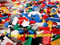 Lego Pcs From Huge Bulk Lot Bulk Lot Blocks - Choose Qty 100, 200 Or 300 Pcs