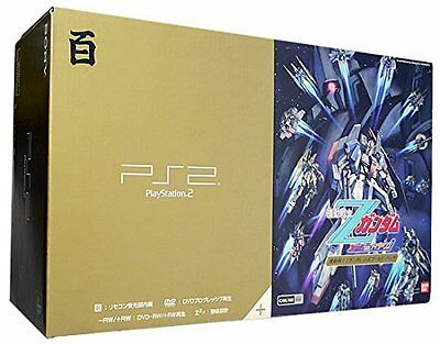 USED PlayStation 2 Z GUNDAM GOLD Pack from Japan Free Shipping