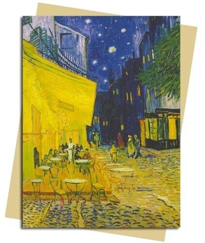 Vincent Van Gogh Cafe Terrace place du Forum Arles Carte Vierge-GRATUIT 1ST CLASSE POST