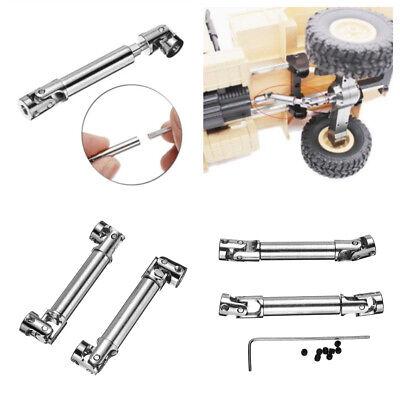 2pcs Upgrade Metal Driving Shaft Coupler For WPL HengLong 1//16 /& 1//24 Crawler
