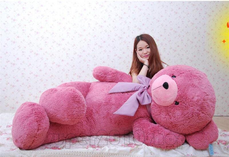 63'' Giant Huge Teddy Bear Plush Doll Large Stuffed Animal Soft Toy Amazing Gift