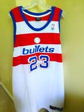 NBA AUTHENTIC #23 MICHAEL JORDAN WASHINGTON BULLETS JERSEY NIKE SIZE 56