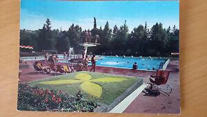 Cartolina-Postcard-CASTROCARO-TERME-FC-Piscina-viaggiata-1970-Animata