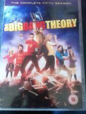 The Big Bang Theory - Series 5 - Complete (DVD, 2012, 3-Disc Set, Box Set)