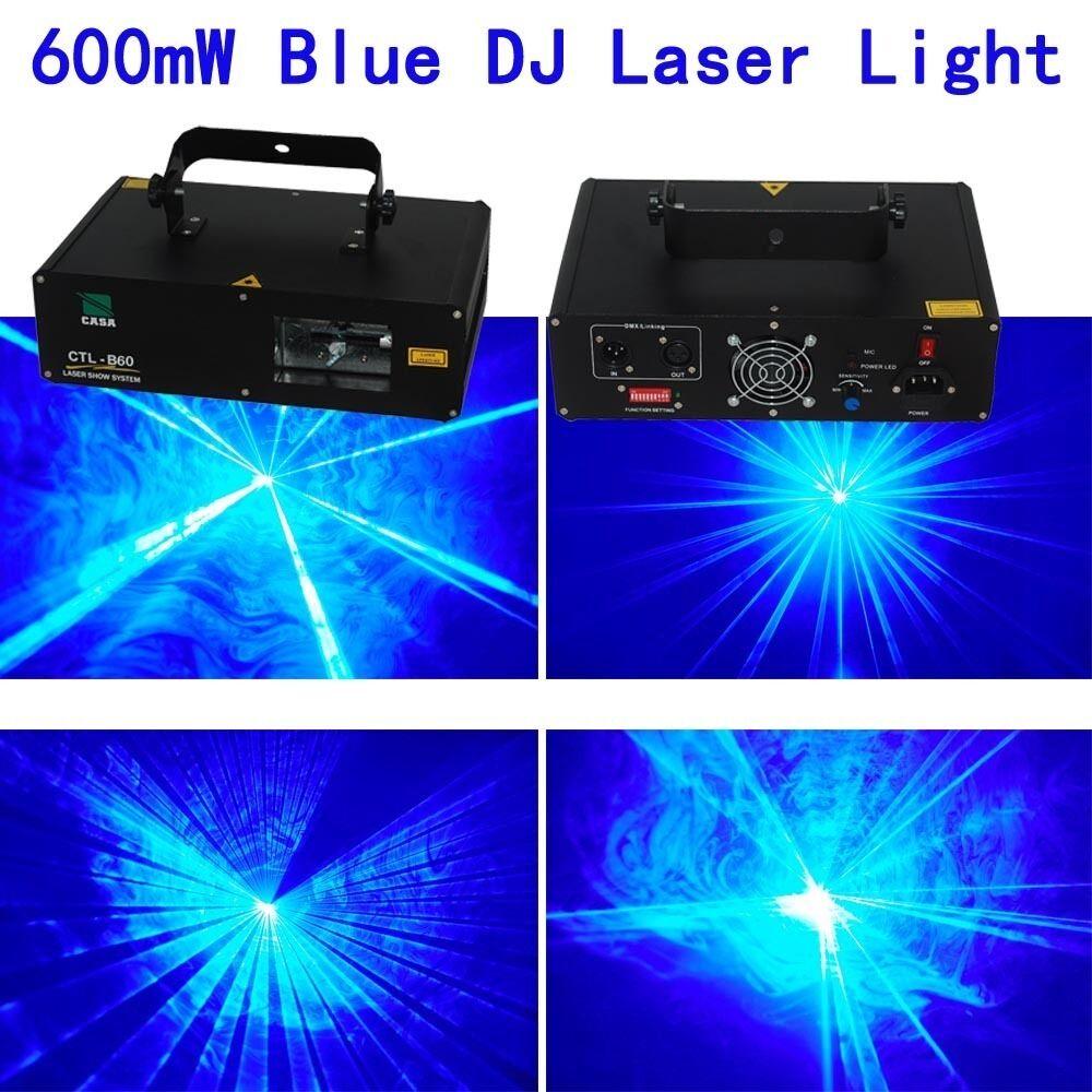 NEW 600mW 450nm 445nm bluee home pub dj Laser Stage Lighting show equipment