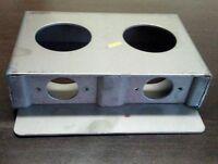 Steel Gate Lock Box Double Hole