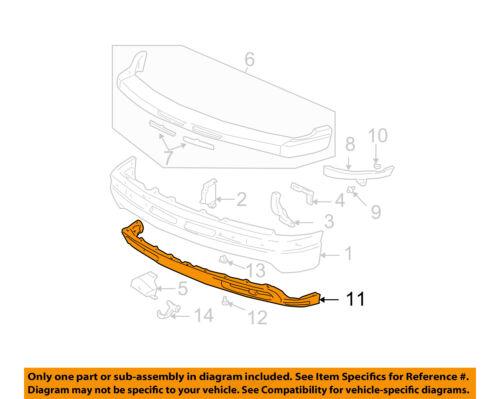 Chevrolet GM OEM Suburban 1500 Front Bumper-Spoiler Lip Chin Splitter 15766483