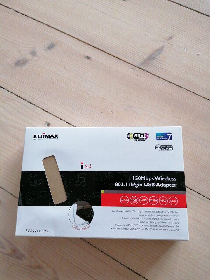 Andet, wireless, Edimax
