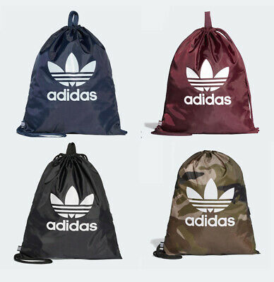 Adidas originals NWT Classic sticker print trefoil Backpack Bag gym mens womens